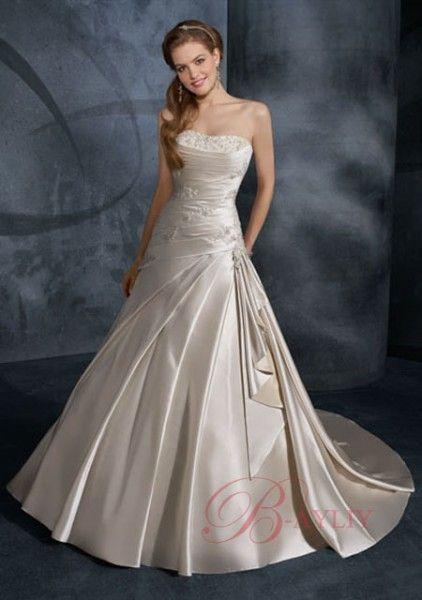 Belle robe de mari e style princesse le devant for Robes de mariage du monde de disney